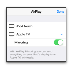 FAQ | Frequently Asked Questions | How do I use AirPlay on